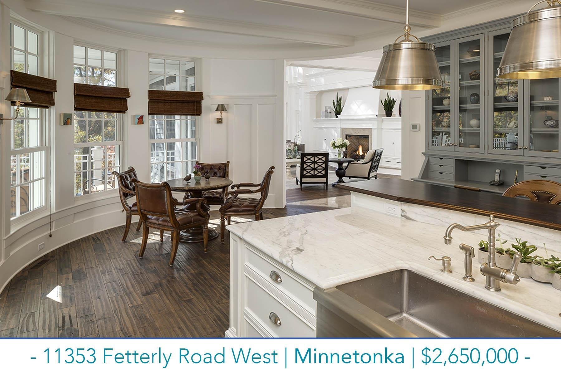 Virtual tour of a luxury home for sale in Minnetonka 11353 Fetterly Road West