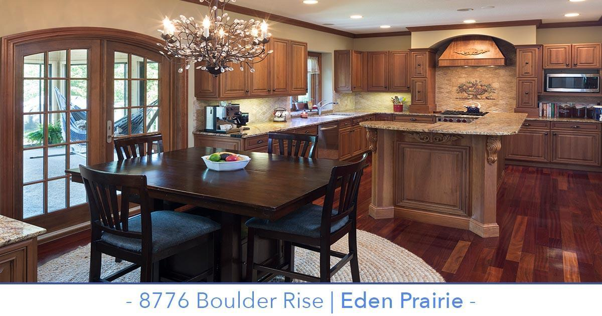Beautiful Eden Prairie Home for sale with incredible outdoor space.