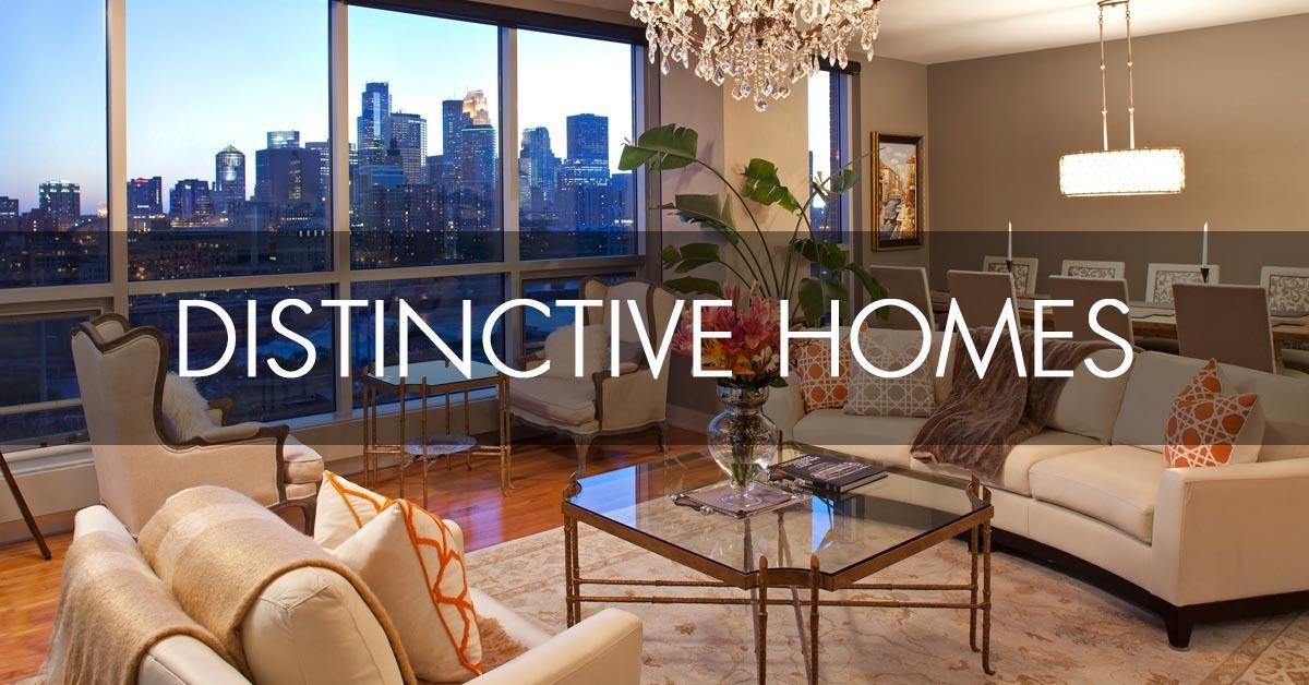 Search Distinctive homes for sale in the Twin Cities